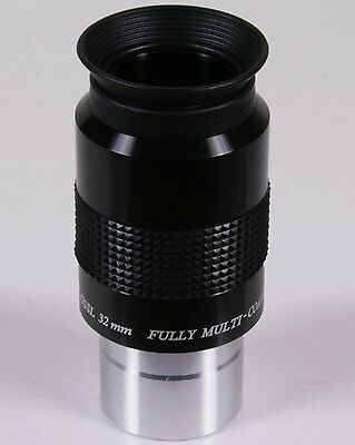 """Revelation Astro (GSO) 32mm Low Power Plossl Eyepiece for 1.25"""" Fit Telescope"""