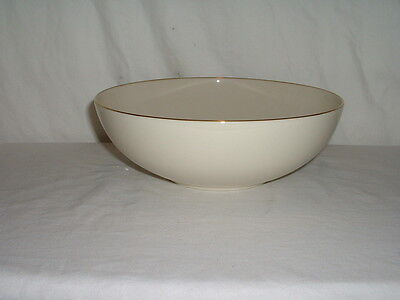 """Lenox Olympia Gold 9"""" Round Vegetable Serving Bowl"""