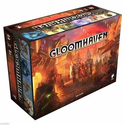 Gloomhaven board game- Miniatures Edition. Cephalofair - New