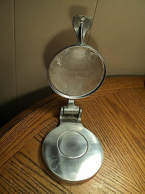 Vintage Aluminum Chef Heavy Duty Hamburg Sausage Press Kitchen Tool - 9-1/8""