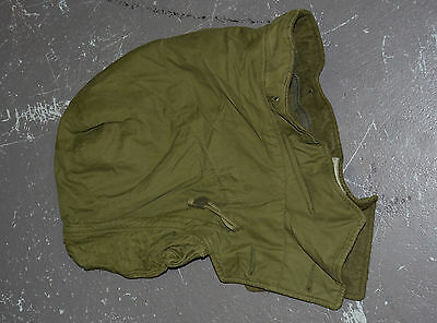 Used Canadian army hood for green winter parka size 7040 (#ho2 bte#146)