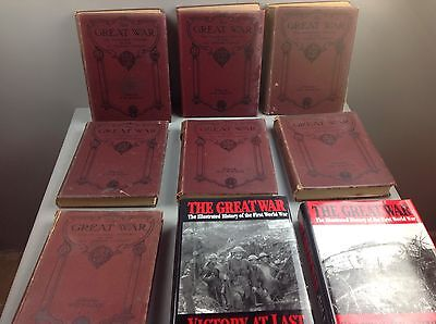 The GREAT WAR Collection of Books Vintage Books