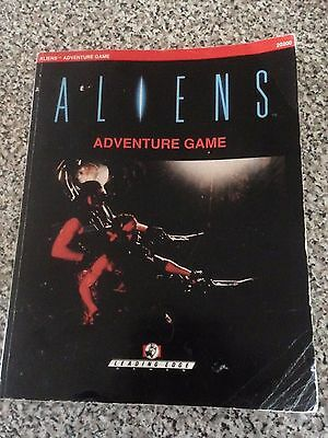 Aliens Adventure Game Book only