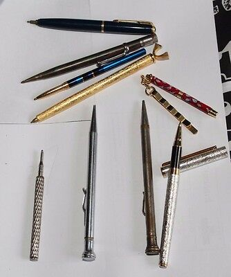 Collection of pens and pencils including WAHL eversharp and Parker