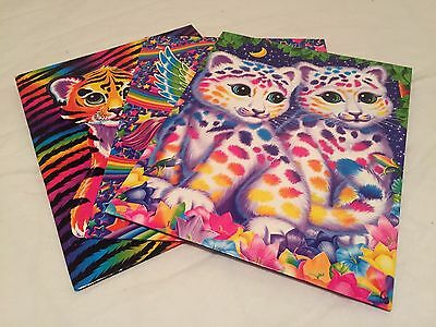 Lisa Frank Stationary Folders