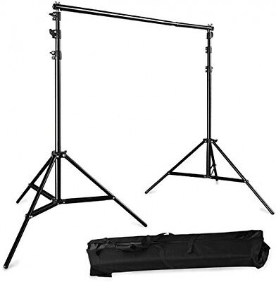 BPS Adjustable 3x2.8m(10ft*9ft) Pro Portable Heavy-Duty Backdrop Support System