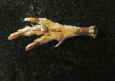 1920's Grouse Claw brooch &Citrine.