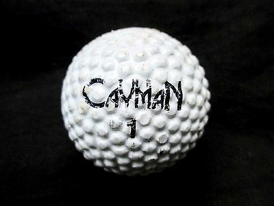 BRAMBLE PATTERN GOLF BALL - MACGREGOR CAYMAN SHORT COURSE BALL by Jack Nicklaus