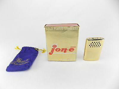 Jon-E Famous Gold Plated Metal Standard Size Hand Warmer Unfired Box Bag