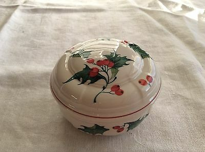 """Villeroy & Boch Covered Dish """"Holly"""""""