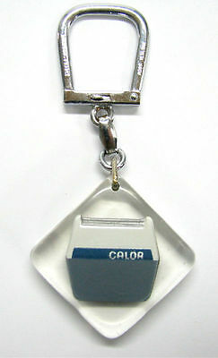 Old French Calor Electric Shavers Advertising Keychain Lucite Bourbon France »
