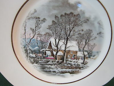 Vintage Avon 1977 Collector Plate The Grist Mill