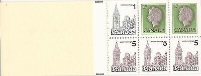 Canada Booklet - (BK80c) - 6 Definitives stamps MNH