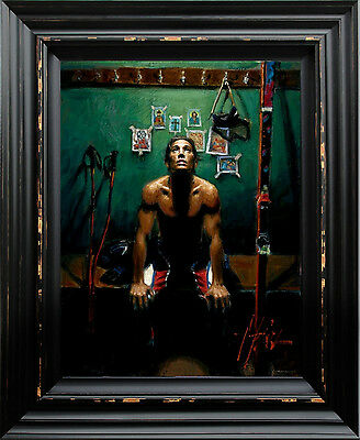 In God's Hands Limited Edition Framed Canvas by Fabian Perez With Free Book!!