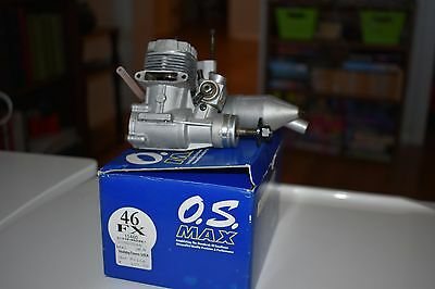 OS Max .46 FX RC Glow fuel engine