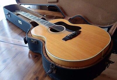 Vintage 1973 Guild F-412 12 string with pickup and original case