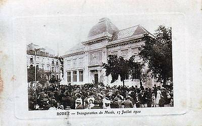 12  -- Rodez -- Inauguration Du Musee    Tres Anime  1910