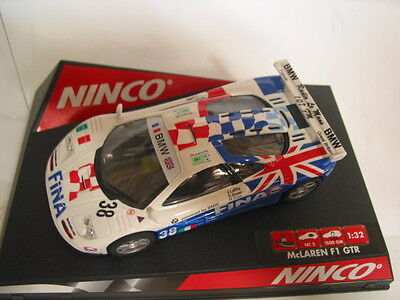 NINCO 50273 mclaren f1 gtr fina   MINT BOXED DELETED COLLECTABLE