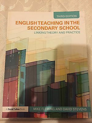 English Teaching In The Secondary School: Linking Theory And Practice.