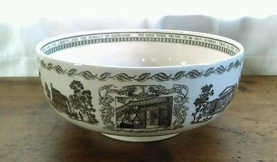 Wedgwood The Liberty Center Bowl featuring Historical Landmarks of Philadelphia