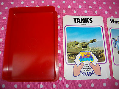 Vintage Dubreq Top Trumps Tanks 534-22 Series 1 Card Game + Collect 4