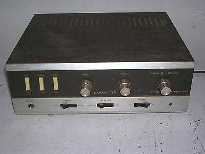 Lafayette 25A Solid State Stereo amplifier