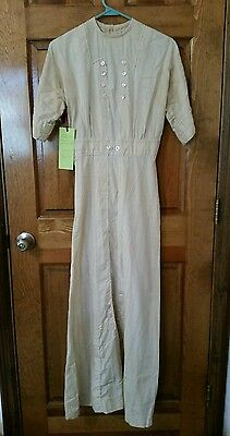 Early 1900's Dress Antique  VINTAGE  Small Edwardian