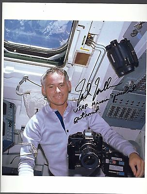 Space Shuttle Autograph,hand Signed Sts-27  Astronaut Mike Mullane
