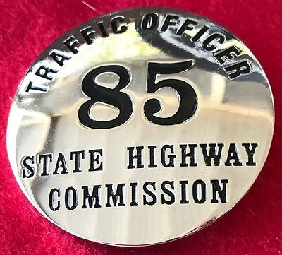 Obsolete Virginia State Highway Commission 85th Anniversary Comemorative Badge