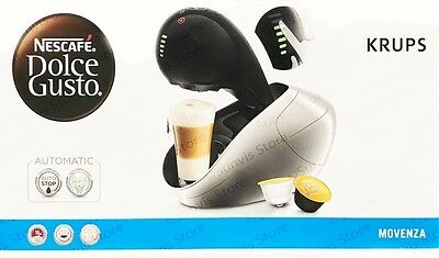 NESCAFE Dolce Gusto Movenza Automatic Coffee Machine by KRUPS - Black KP600840
