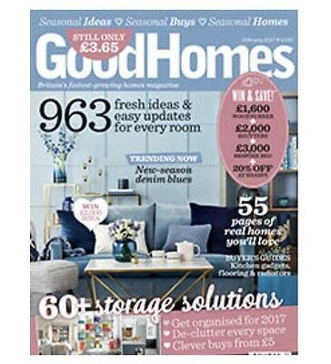 Good Homes Magazine February 2017 (Brand New Copy)