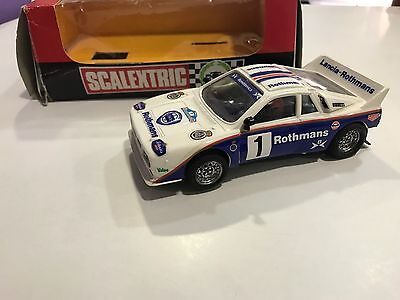 Scalextric Exin Lancia 037 Rothmans Ref 4076