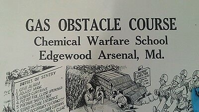 WW2 Chemical Training Certificate