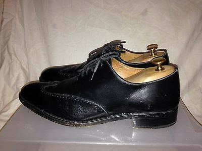 BEXLEY HANDMADE Size 10 Goodyear Welted Men's black leather brogues shoes Eur 44