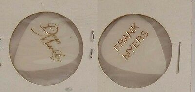 Marie Osmond - Old Frank Myers Concert Tour Guitar Pick