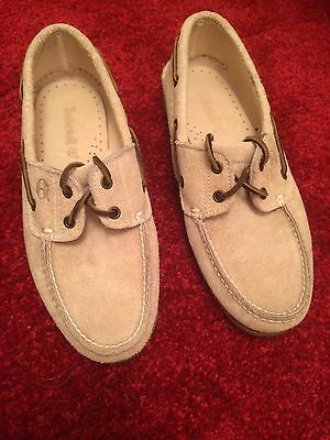 Men's Size 9 Timberland Suede Moccasins