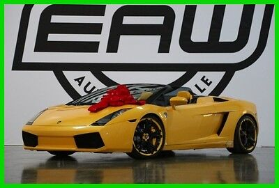 2008 Lamborghini Gallardo 2008 Lamborghini Gallardo Spyder 2008 Lamborghini Gallardo Spyder 22k Miles, New Tires, Clutch Replaced recently