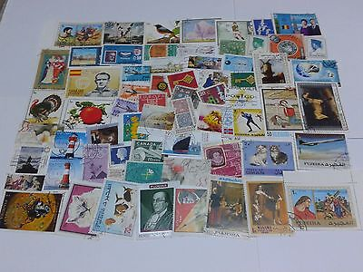 LOT 970 - 260 timbres tous pays (22 grammes)