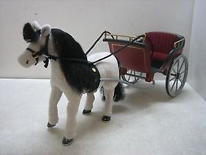 """madeline 8"""" horse and carriage set eden learning curve very rare set smoke free"""
