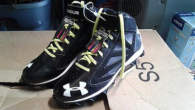 Under armour size 8.5 cleats