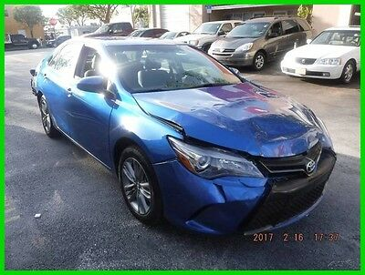 2017 Toyota Camry SE 2017 Toyota Camry Se Runs&Drives Rebuilder Repairable Fixer Damaged Wrecked fix