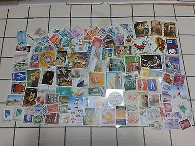 LOT 974 - 250 timbres tous pays (18 grammes)