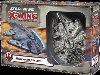 Star Wars X-Wing Miniatures Game: MILLENNIUM FALCON Expansion Pack FFG SWX06