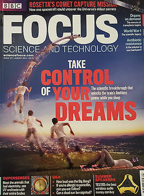 BBC Focus Magazine - Take Control of Your Dreams Issue 271