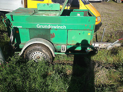 Grundowinch  4 Tons Cable Winch