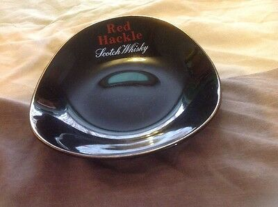 Red Hackle Scotch Whisky Ceramic Ashtray