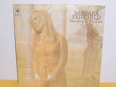 Lp - Barbara Fairchild - Standing In Your Line