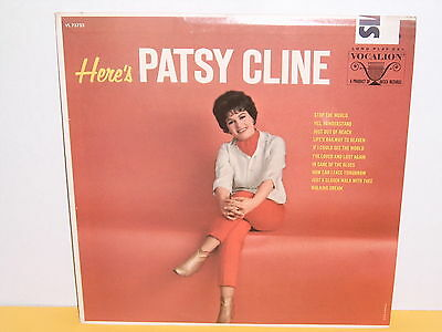 Lp - Patsy Cline - Here's