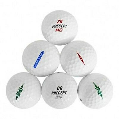 120 Precept Mix Mint Recycled Used Golf Balls