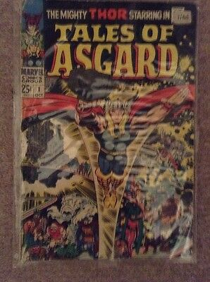 Tales of Asgard Annual #1, Thor. Jack Kirby, Marvel comics